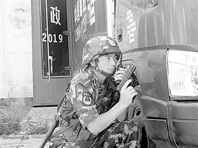 记武警8621部队 特功四连 连长杜志国 打虎连 的 掌门人图片