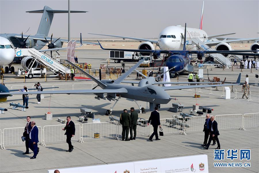 (國際)(4)迪拜航展開幕