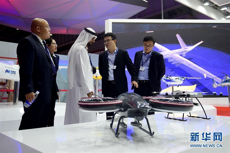 (國際)(1)中國元素閃耀迪拜航展