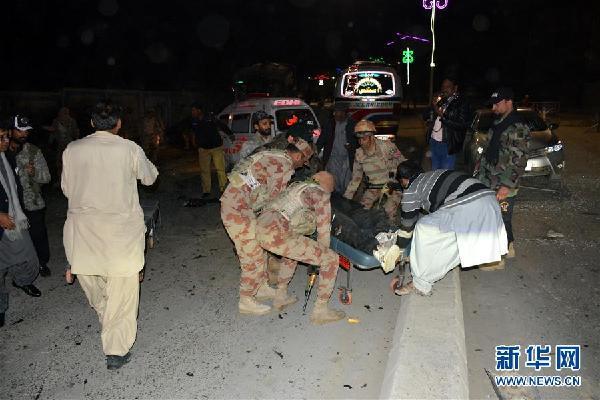 (國際)(1)巴基斯坦西南部發生炸彈襲擊7人死亡