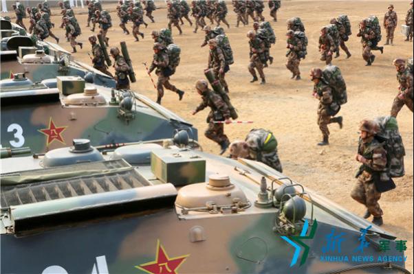 陸軍某合成旅以營帶戰鬥編組新模式展開新年度訓練(組圖)