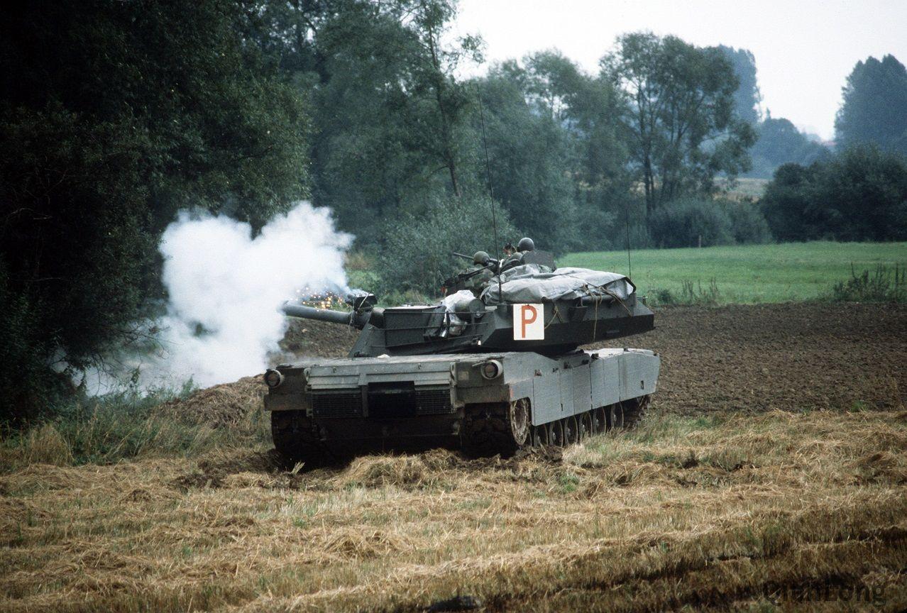 北約演習中的美軍M1主戰坦克(高清組圖)