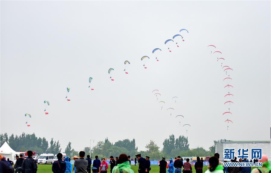 (社會)(1)河北衡水舉辦航空運動嘉年華