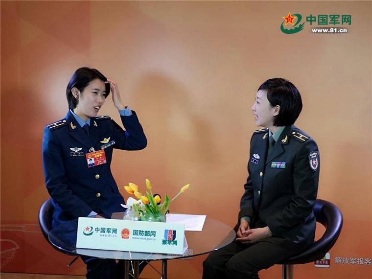 全国人大代表张潇:歼击机女飞行员的故事,更多女孩可以有