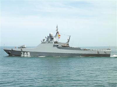俄罗斯22160型巡逻舰——